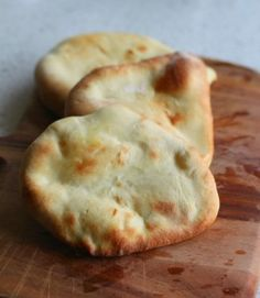 Naan Bread! Make your in The Kitchen Master. Goes great with Butter Chicken done in the Kitchen Master!