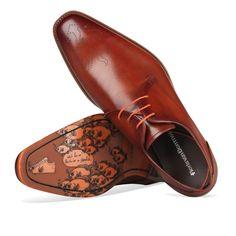 Floris-van-Bommel--18014-Cognac-110100148 Best Shoes For Men, Men S Shoes, Grown Man, Men Looks, Derby, Oxford Shoes, Dress Shoes, Menswear, Lace Up