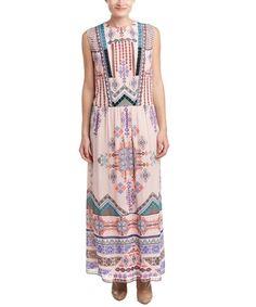 Hemant & Nandita Printed Maxi Dress