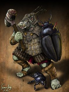 Gorakiki Troll Warrior by Blackyinkin on deviantART