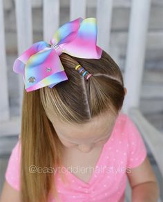 Braids Easy For Kids Girl Hairstyles 64 New Ideas Easy Toddler Hairstyles, Easy Little Girl Hairstyles, Baby Girl Hairstyles, Princess Hairstyles, Cute Hairstyles, Sams Hair, Girl Hair Dos, Kids Cuts, Cool Haircuts
