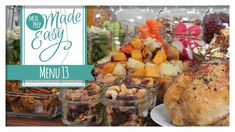 Healthy Meal Prep | Menu 13 | Pumpkin Spice Cookies, Autumn Quinoa Salad...