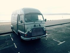 Taken the Estafette on a 100 mile drive along the Devonshire coast, before she is stripped inside. Over the next few weeks we are fabricating a bespoke roof rack, new wheels, she is being lowered, the inside has been repainted and the kitchen build will be started.