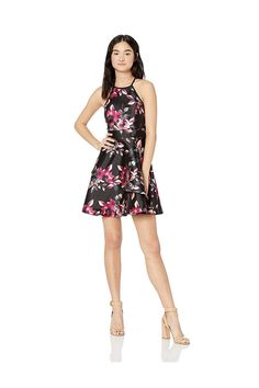 (This is an affiliate pin) Speechless Women's Junior's Teen Fit & Flare Dress with Layered Skirt
