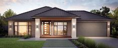 house facade single storey - Google Search