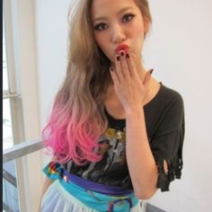 2012 s/s  hair trend  Two tone & Gradation