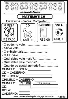 Vera Cunha's media content and analytics Abacus Math, Math Charts, Write It Down, Addition And Subtraction, Math Worksheets, First Grade, School Days, Kids Playing, Professor