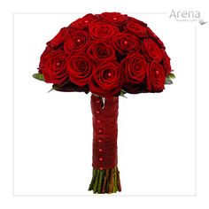 Silk Bridal Bouquets on Wedding Bouquet Red Roses  Photos