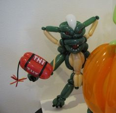 Balloon art Spike from Gremlins.