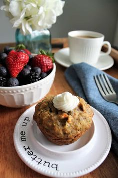 These healthy vegan muffins with hidden veggies are packed withzucchini, carrot, flax, and oats, but it tastes like a cupcake! They are the perfect vegan, gluten free, and soy free grab and go breakfast! thehiddenveggies.com