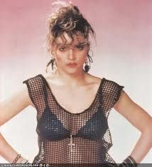 1980s fashion #tbt #madonna #punk