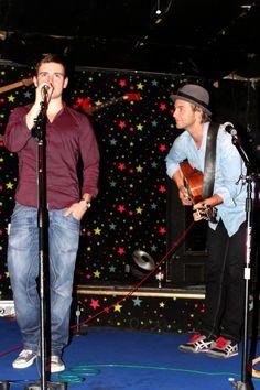 Keith Harkin and Emmet CaHill 2012