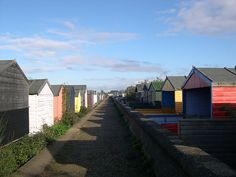 Whitstable Beach Huts by Worthing Wanderer, via Flickr