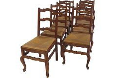 French Ladder-Back Chairs, Set of 8 on OneKingsLane.com