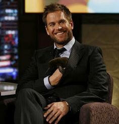Michael Weatherly - seriously, how can one man look this good?
