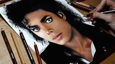 drawing michael jackson - YouTube