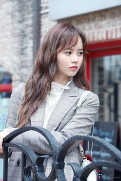 Kim So-hyun (김소현) - Picture @ HanCinema :: The Korean Movie and Drama Database Korean Actresses, Korean Actors, Actors & Actresses, Kim So Hyun Fashion, Kpop Fashion, Asian Woman, Asian Girl, Kim Sohyun, Kim Yoo Jung
