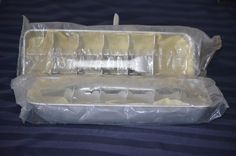 SOLD - Still Sealed... Vintage Metal Ice Cube Trays