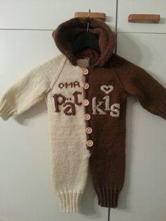 Pätkis-haalari Diy Crochet And Knitting, Little Ones, Baby Kids, Sweaters, Handicraft Ideas, Baby Things, Fashion, Dots, Moda