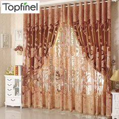 Top Finel Hot Modern Tulle for Window Curtain Embroidered Voile Sheer Curtains for Living Room the Bedroom Shade Drapes Panel   Price: US $9.99   http://www.bestali.com/goto/32247148687/10