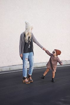 I hope my future daughter and I are this stylish!