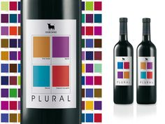 Use Pantone Chips to identify with a particular grape varietal. Wine Label Design, Bottle Design, Pantone Swatches, Color Swatches, Wine Tasting Near Me, Wine Coolers Drinks, Spanish Wine, Types Of Wine, Wine Packaging