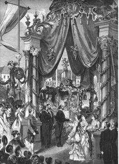 Arrivo a Vienna nel 1871 a Vienna