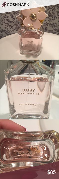 Daisy Perfume by Marc Jacobs Daisy by Marc Jacobs is a beautiful light and sweet scent that lasts all day. Open to reasonable offers! Marc Jacobs Makeup