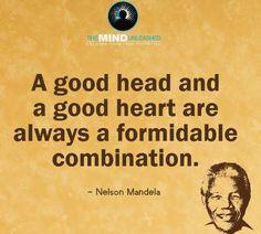 #goodhead #goodheart #quotes