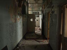 Abandoned Royal Marines Barracks