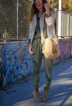 Total Look Khaki   Wayuu