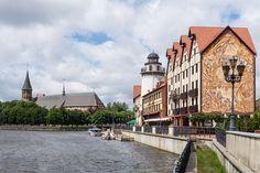 Kaliningradin katedraali ja kalastajakylä, Venäjä