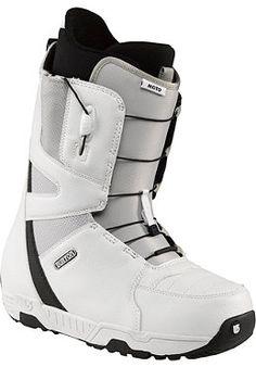 BURTON Moto Boots white/gray/black