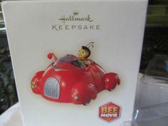 2007 Bee Movie Hallmark Keepsake Handcrafted Ornament Barry Benson New in Box