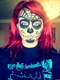 my day of the dead makeup