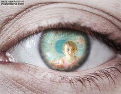 Photo Effect - Eye - Generated at Wishafriend.com