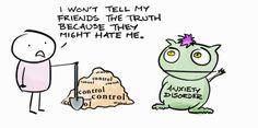 — Anxiety Disorder Feeding Time