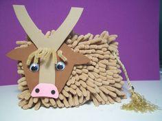 Yak craft for kids.
