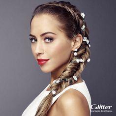 Få inspiration til en fin ny hår frisure @ Glitter #Fisketorvet #CopenhagenMall #fashion #beauty #braid #fishtail #summer #hairdo #hair #hairguide