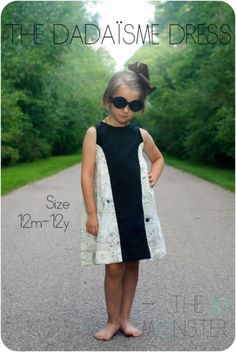 The Dadaïsme Dress PDF Sewing Pattern | YouCanMakeThis.com