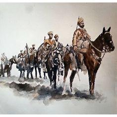 Sikhs in World War Beautiful #sikhart