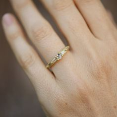 Polly Wales Coco Diamond Ring at General Store