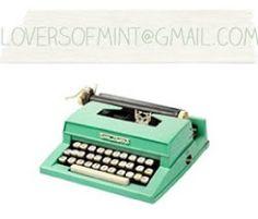 Lovers of mint, blog dinspiration déco, mode, jeunes créateurs