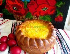Reţeta neegalată de pască din Bucovina! Romanian Desserts, Romanian Food, Easter Recipes, Deserts, Muffin, Goodies, Food And Drink, Dairy, Sweets