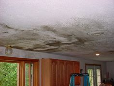 water damage from gutters !
