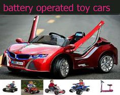 battery operated ride ons car: Perfect Presents For Boys- Battery Operated cars