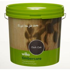 Wilko Timbercare Dark Oak 5ltr at wilko.com