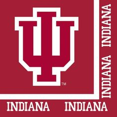 (240/case) Case of Indiana University Lunch Napkins, 2-Ply