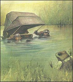 Wind in the Willows by Kenneth Grahame illustration by Australian artist Robert Ingpen
