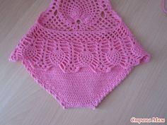 Crochet For Kids, Crochet Baby, Crochet Top, Crochet Designs, Bikinis Crochet, Blue Swimsuit, Baby Dress, New Baby Products, Crochet Baby Dresses